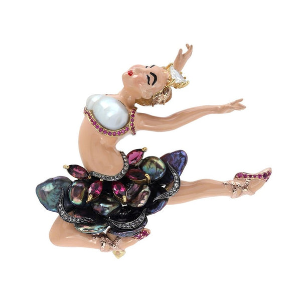 Ballet Dancer Brooch