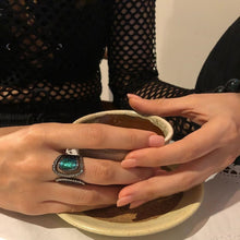 Load image into Gallery viewer, Scarab Ring Decorated with Diamond