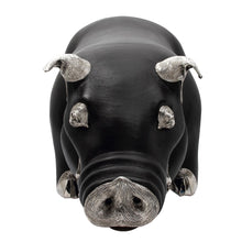 Load image into Gallery viewer, Brown Leather Pig Stool