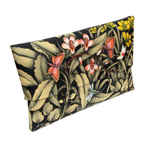 Load image into Gallery viewer, Balinese Painted Bamboo Handbag with Butterfly