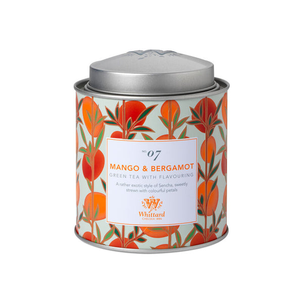 Tea Discoveries Mango & Bergamot Tea Caddy