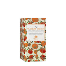 Load image into Gallery viewer, Tea Discoveries Mango & Bergamot 25 Individually Wrapped Teabags