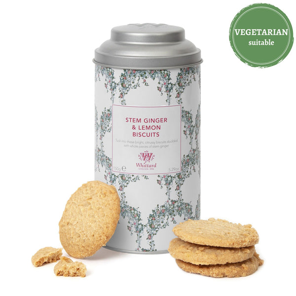 Tea Discoveries Stem Ginger & Lemon Biscuits