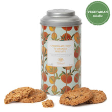 Load image into Gallery viewer, Tea Discoveries Chocolate Chip & Orange Biscuits