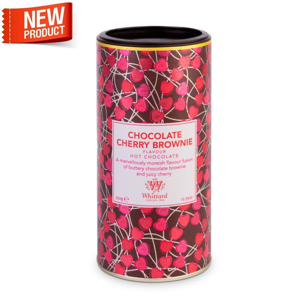 Limited Edition Chocolate Cherry Brownie Flavour Hot Chocolate