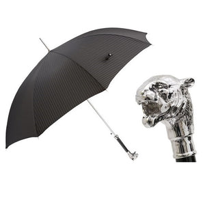 Silver Tiger Umbrella