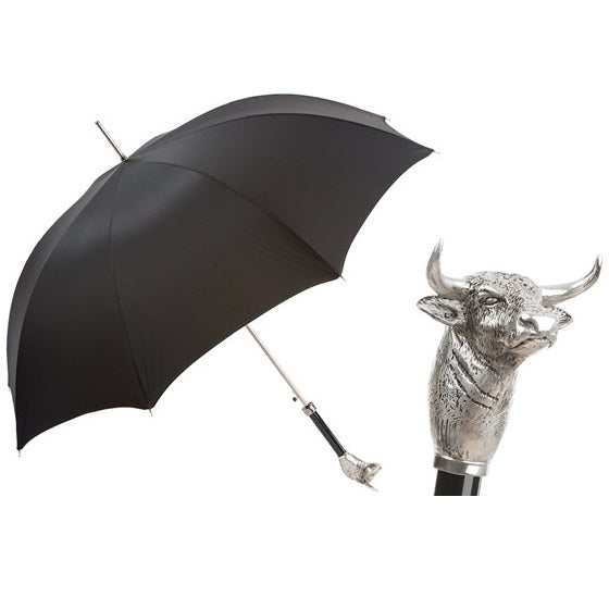 Bull Umbrella with Brass Handle