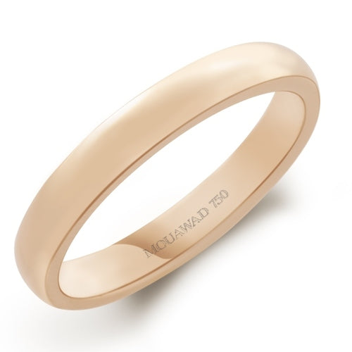Gold Plain, Wedding Band