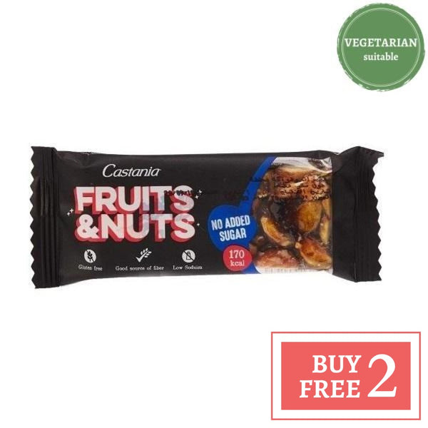 Fruits & Nuts Bar- No Added Sugar