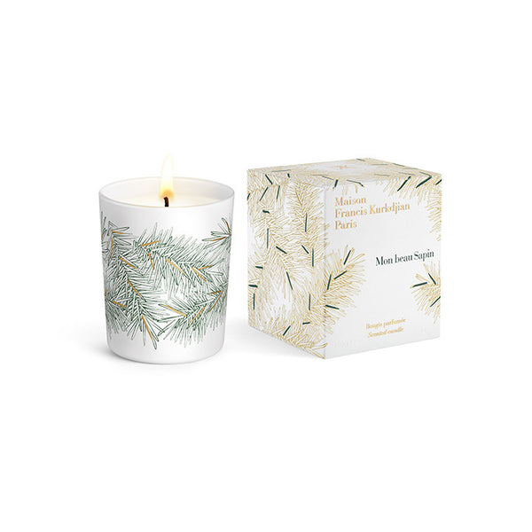 Mon beau Sapin White scented candle