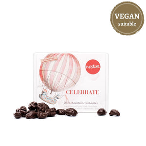 Nestar - Celebrate Series - Dark Chocolate Cranberries