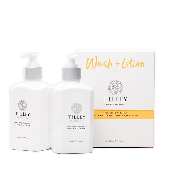 Tilley of Australia Tahitian Frangipani Wash & Lotion