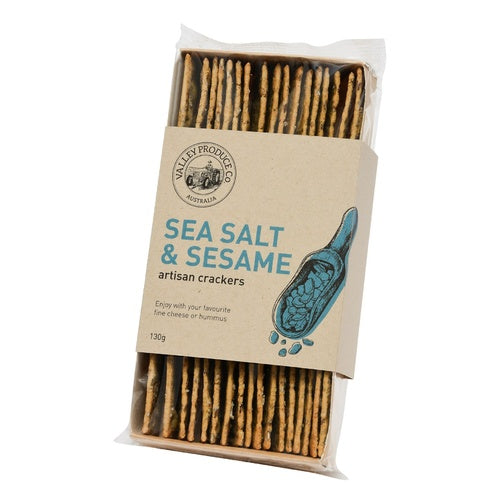 VPC Seasalt & Sesame Artisan Crackers