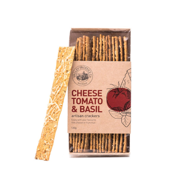 VPC Cheese, Tomato & Basil Artisan Crackers