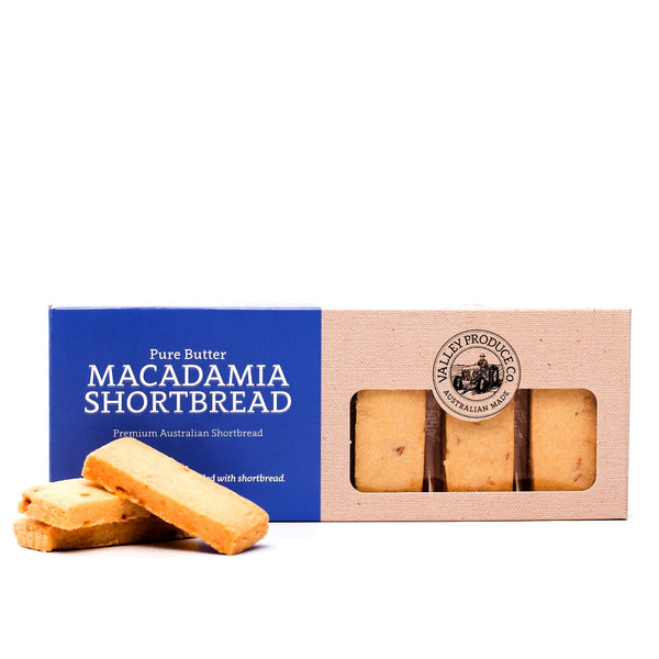 Valley Produce Co Pure Butter Macadamia Shortbread