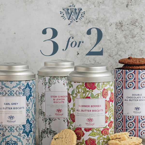 Whittard Biscuit, Buy 3 for 2