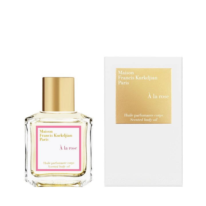 À la Rose Scented Body Oil