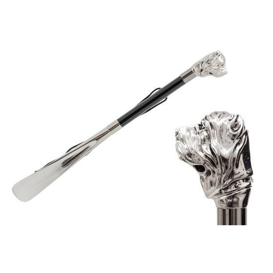 Silver Mastiff Shoehorn