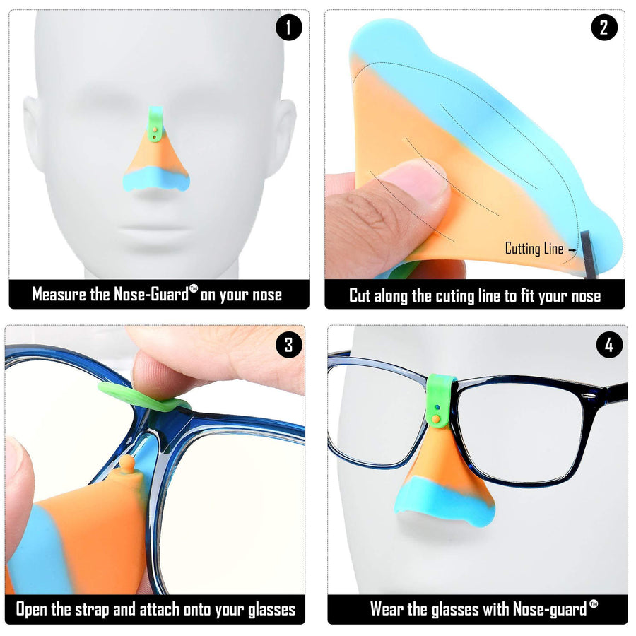 NoseSafe - UV Nose Guards for Glasses