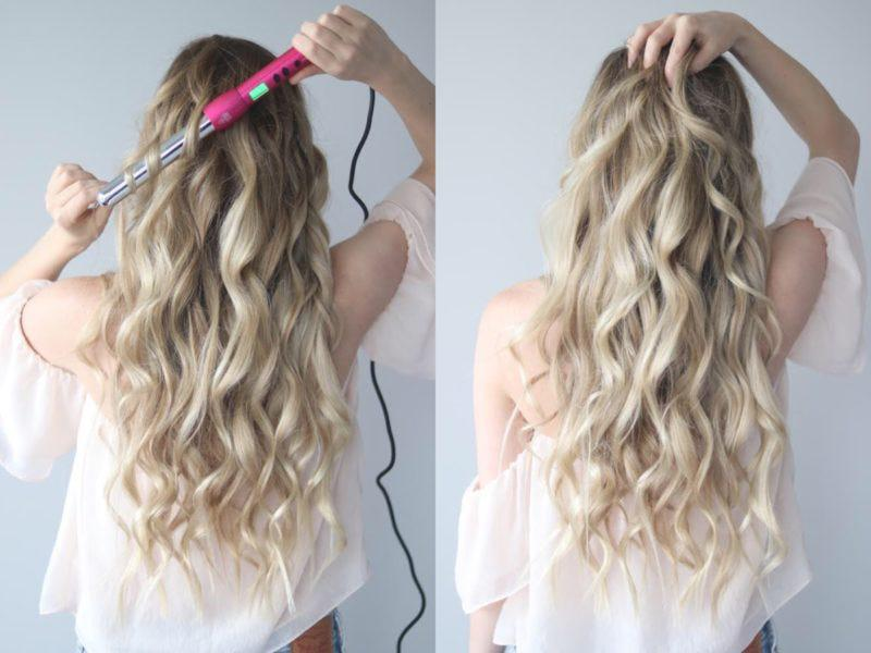 EASY COACHELLA-READY LOOSE CURLS WITH THE NUME 25MM MAGIC CURLING WAND