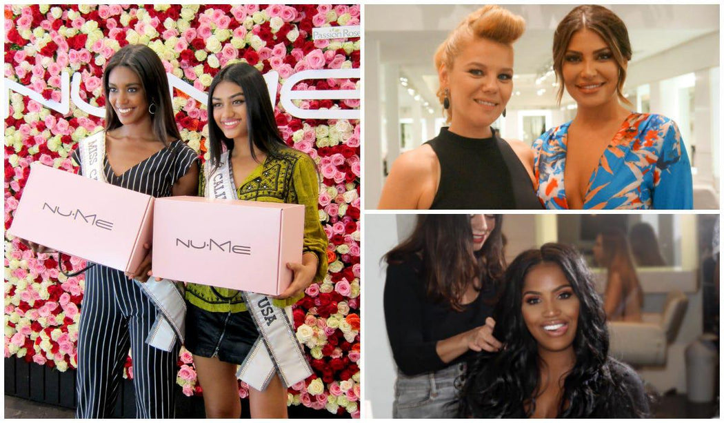 NuMe + ULTA Launch Party at Cristophe Salon in Beverly Hills On National Hair Day
