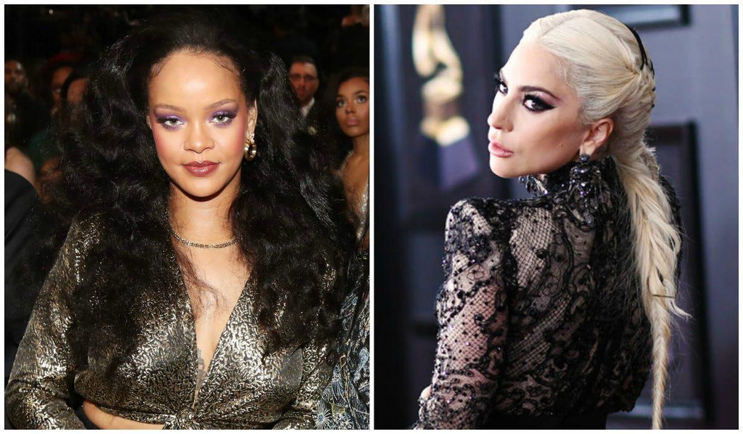 Lady Gaga + Rihanna Inspired 2018 Hairstyles at the Grammys