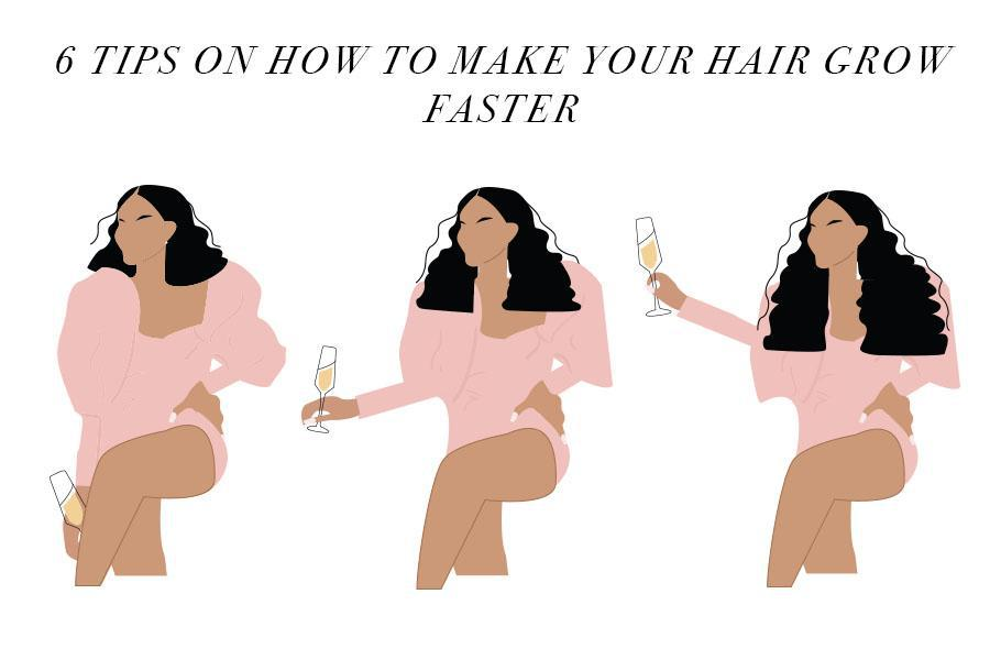 6 Tips On How To Make Your Hair Grow Faster