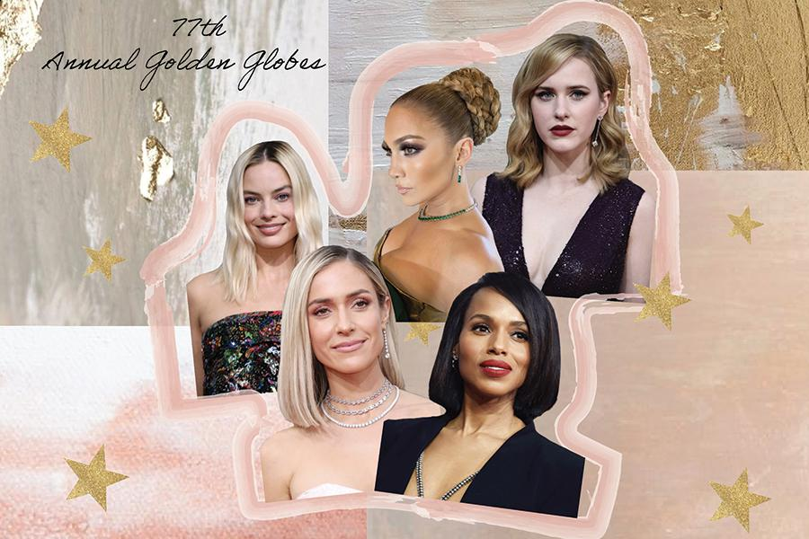 5 Favorite Hairstyles from the 77th Annual Golden Globes