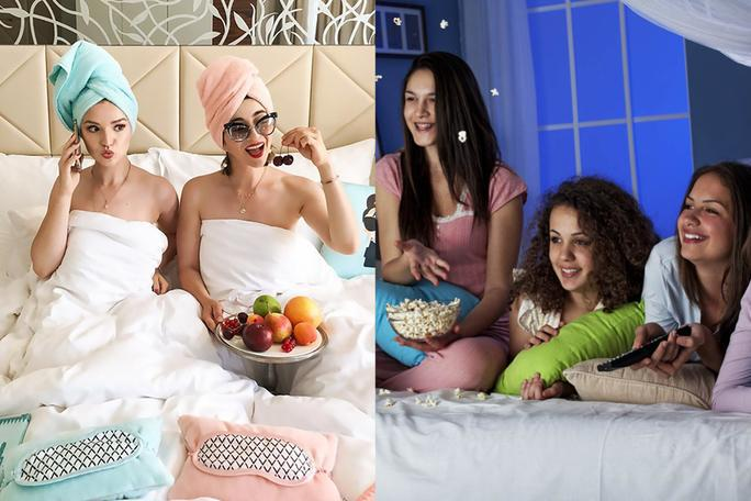 Here's to Nights That Turned Into Mornings: Cute Hairstyles to Create With Your Friends at Your Next Sleepover