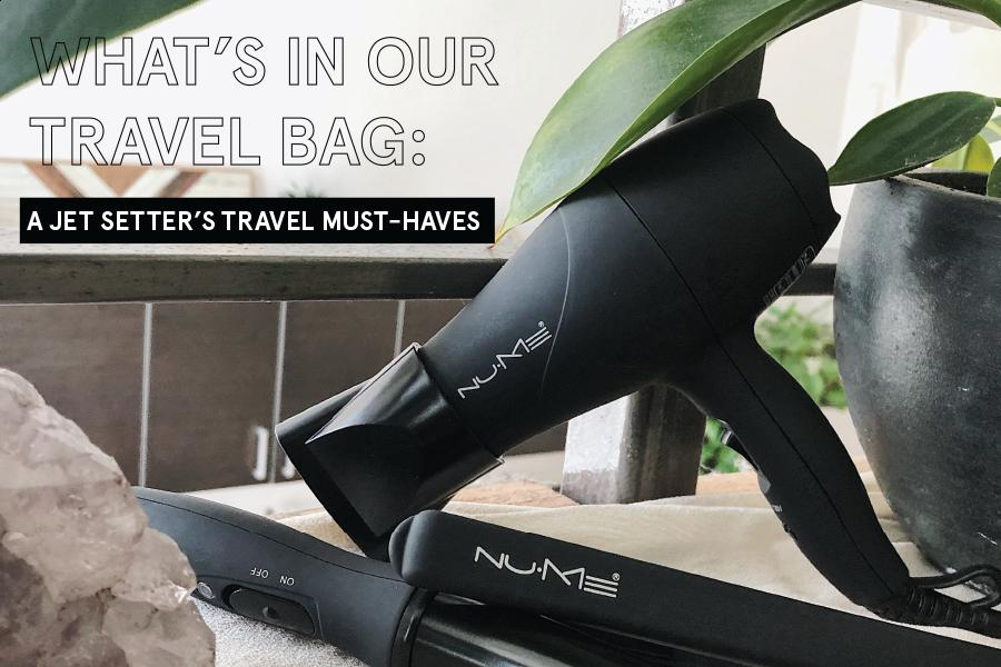 What's In Our Travel Bag | A Jet Setter's Travel Must-Haves