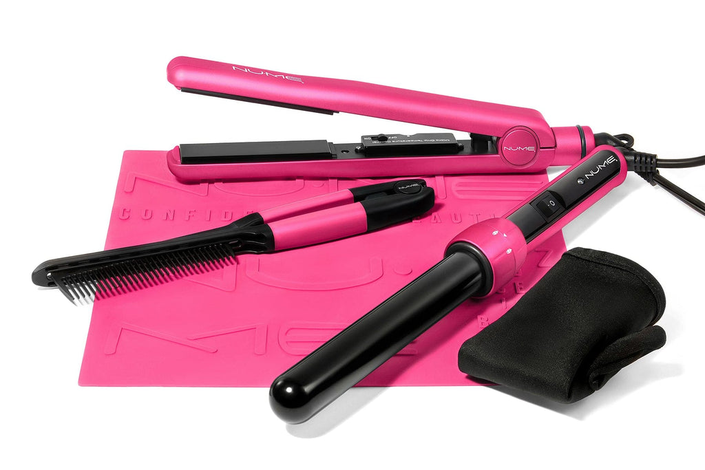 Hair Straightener and Curling Wand Set