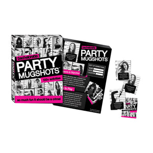 Shop Bachelorette Party Mugshots Game, All Bout Boobies Adult Store