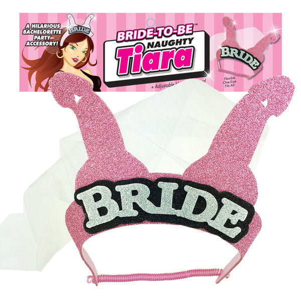 Shop Bride to Be Naughty Penis Tiara, All Bout Boobies Adult Store