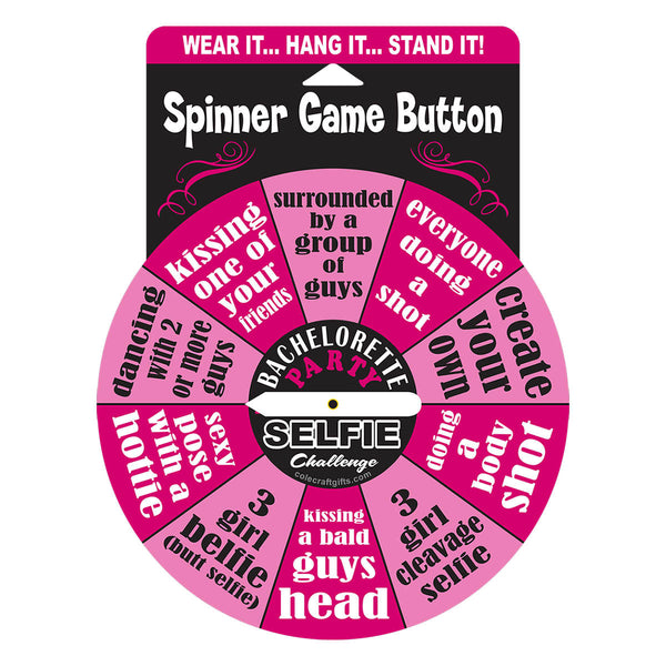 "Shop Bachelorette Party Selfie Spinner 6"", All Bout Boobies Adult Store"