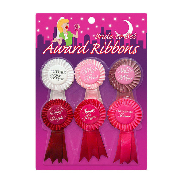 Shop Bride to Be Award Ribbons, All Bout Boobies Adult Store