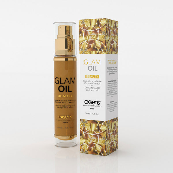 Exsens Glam Oil 50 ml. - All Bout Boobies