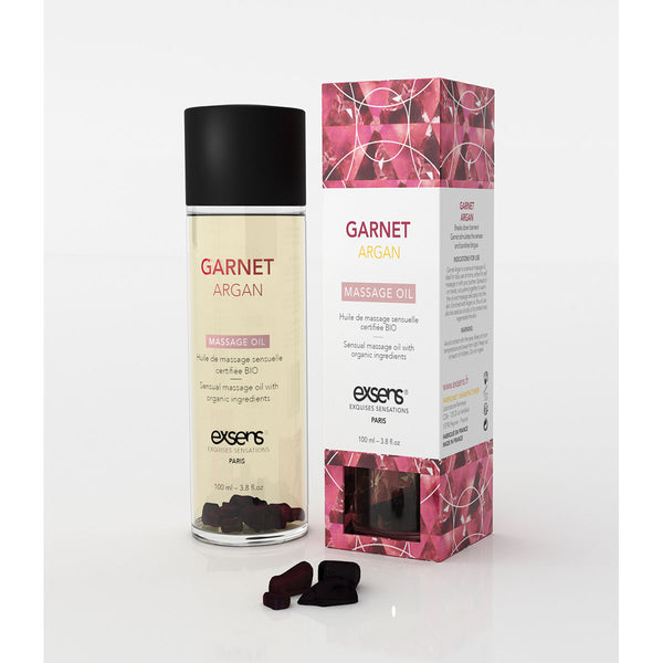 Exsens Massage Oil - Garnet Argan 100ml - All Bout Boobies