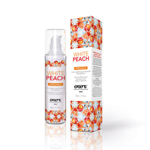 Exsens Warming Massage Oil 50 ml. - White Peach - All Bout Boobies