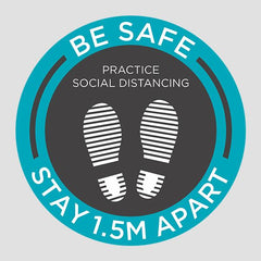 Be Safe Floor Stickers