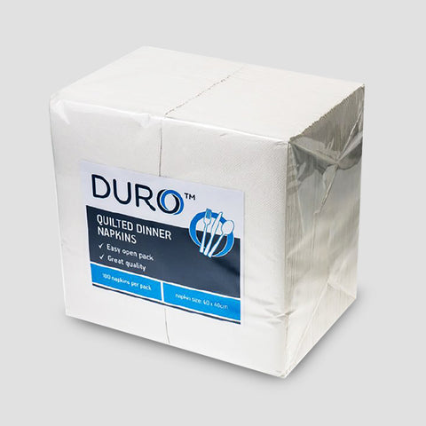 Duro Quilted Dinner White GT Fold