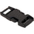 1-inch black plastic side release buckle