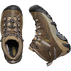 a view from above of the targhee II women's mid waterproof boot