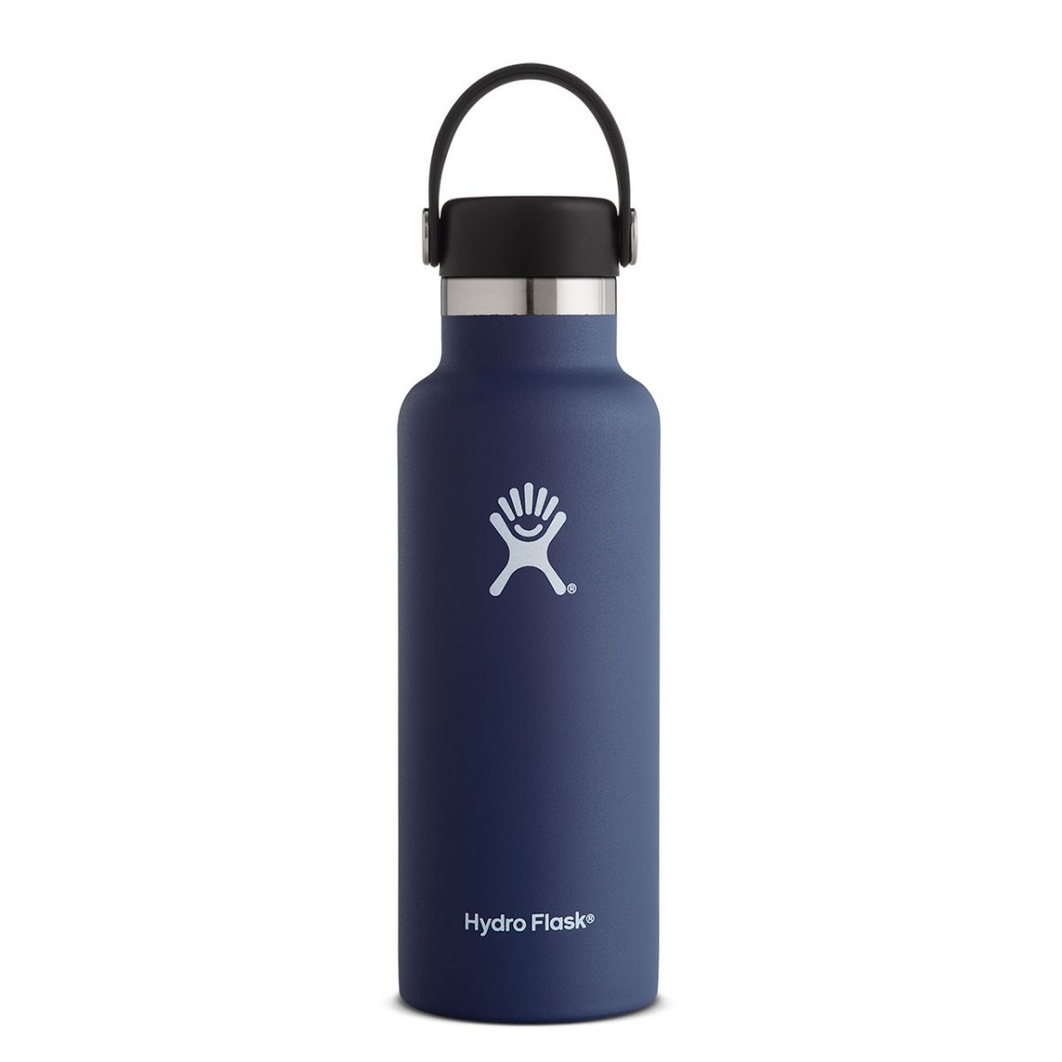 hydroflask 18oz standard mouth in cobalt