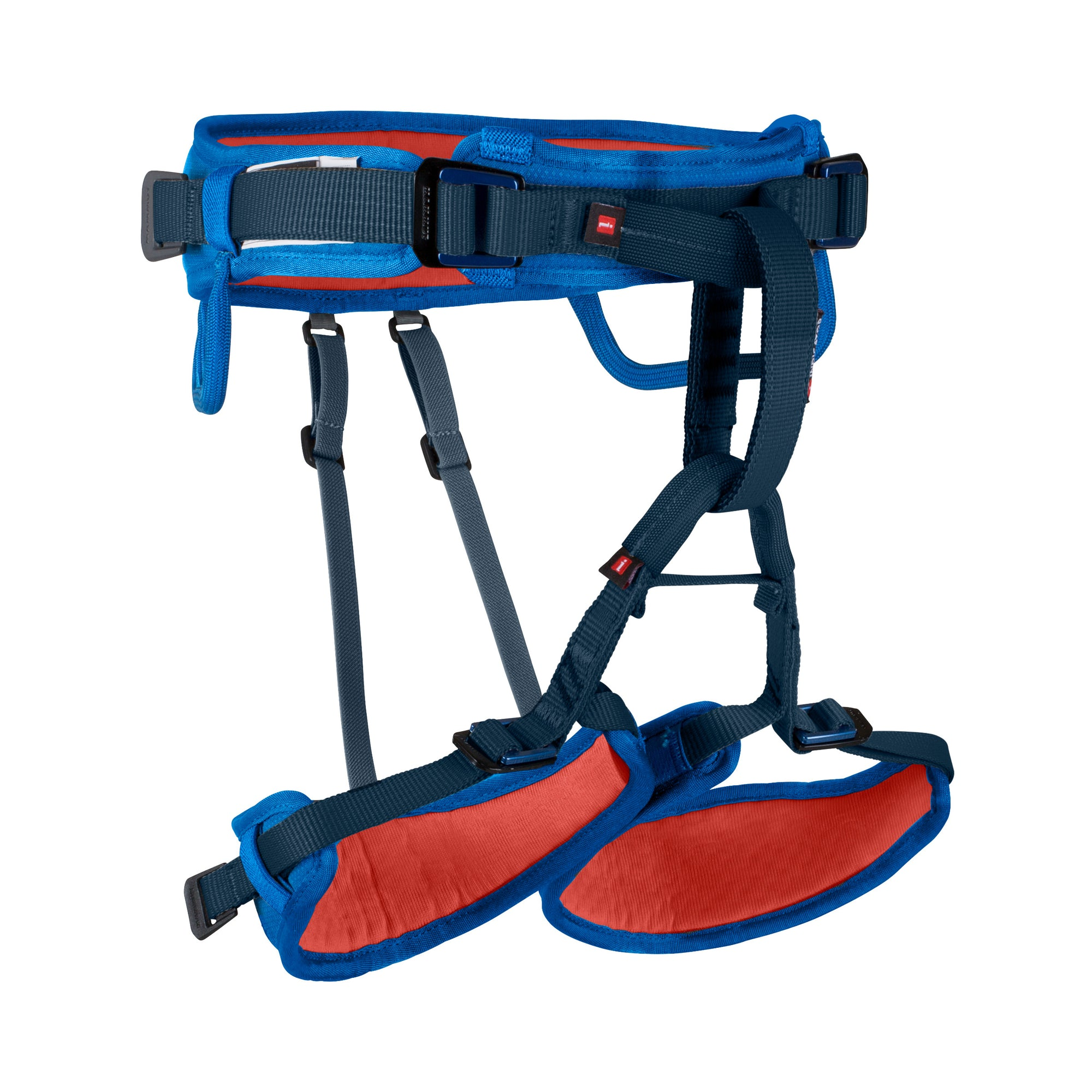 front of the ophir kid's harness in blue