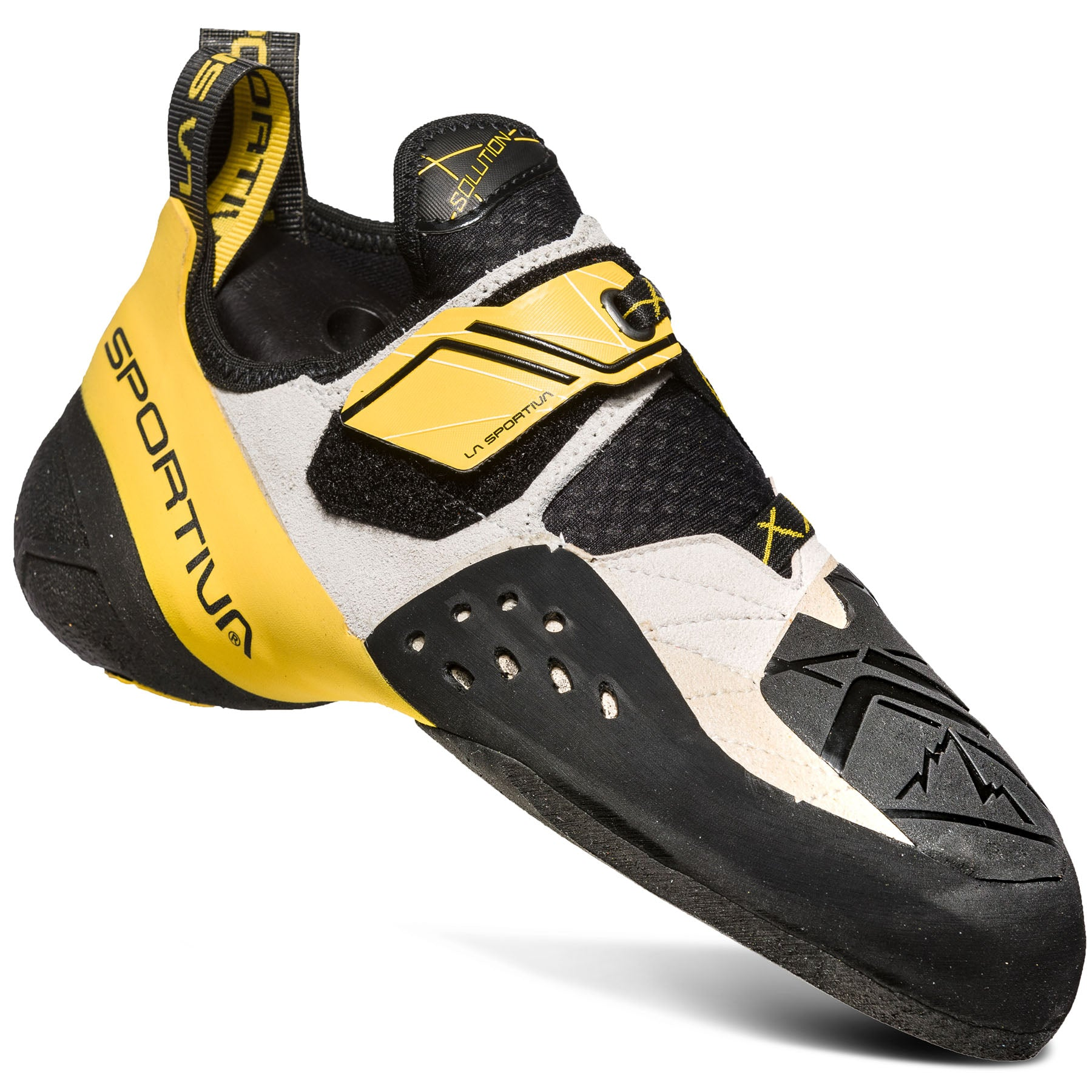 la sportiva mens solution rock shoe, side view