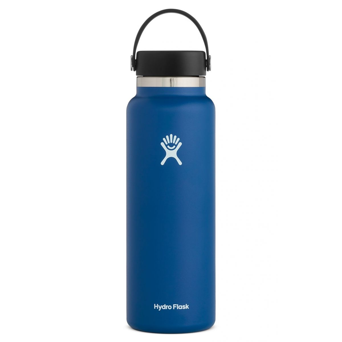 hydroflask 40oz wide mouth in cobalt