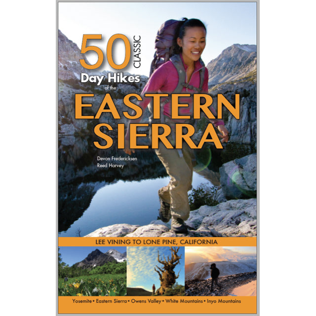 50 classic day hikes in the eastern sierra
