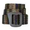 millenium belt coiled, in the pattern Coyote