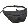 The warbler waist pack in asphalt