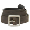 the bison designs classic leather belt in brown